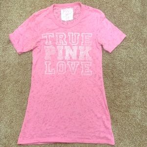 TRUE PINK LOVE - S T-shirt